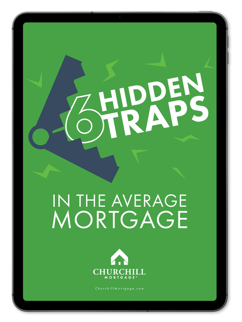 black ipad with ebook cover 6 Hidden Traps in Your Mortgage